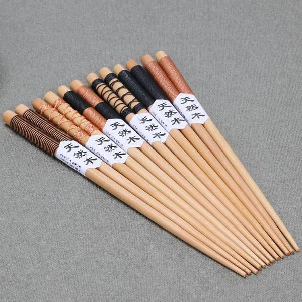 Bambukinės valgymo lazdelės (6 poros)