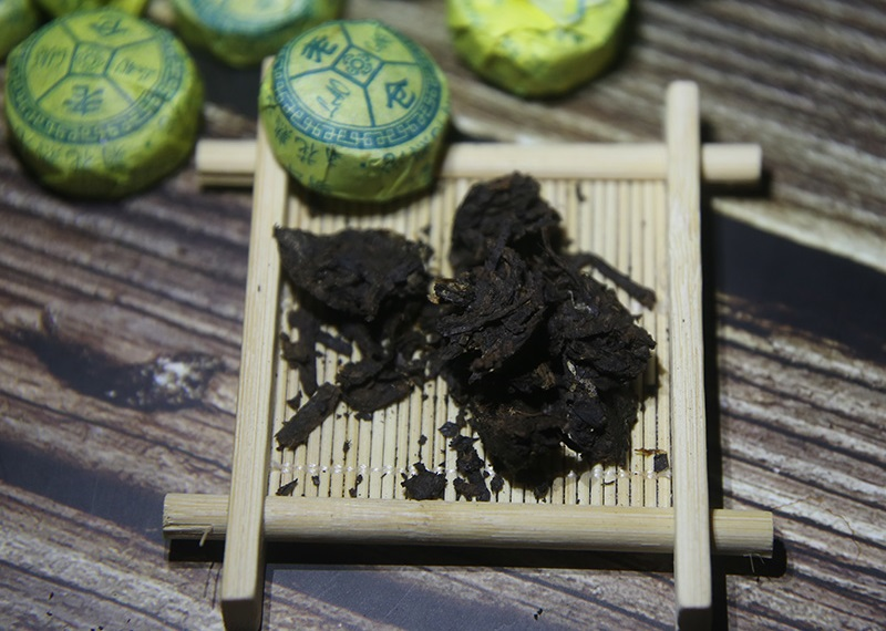 Ripe Pu-Erh (su CHRIZANTEMŲ ŽIEDAIS / 2015 m.) arbata (30/50/100 g.)