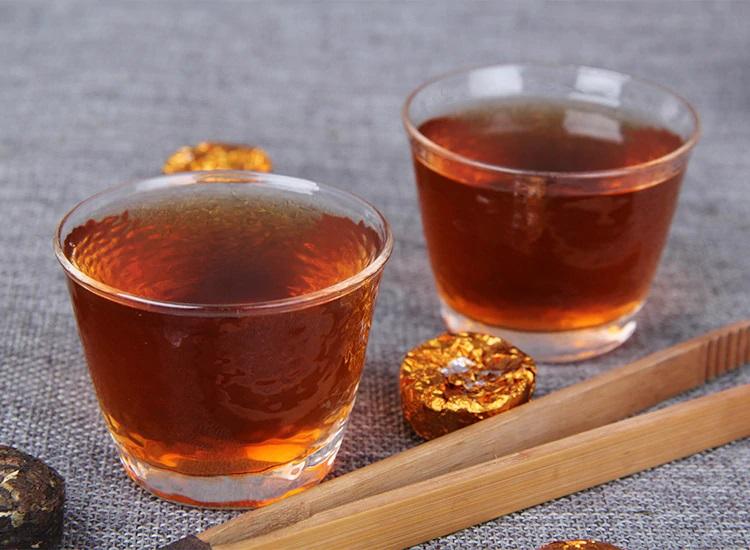 Ripe Pu-Erh (su LIPNIAIS RYŽIAIS / 2019 m.) arbata (500 g.)